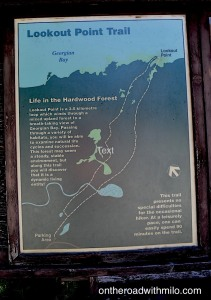 lookout point trail sign
