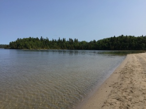 white lake beach